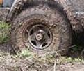 Грязные колеса