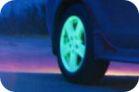 Автомобильный диск покраска