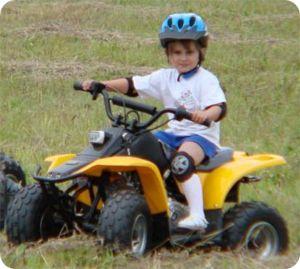 Детский квадросцикл