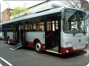 Автобус с низким полом