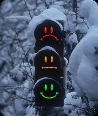 Остановка на светофоре