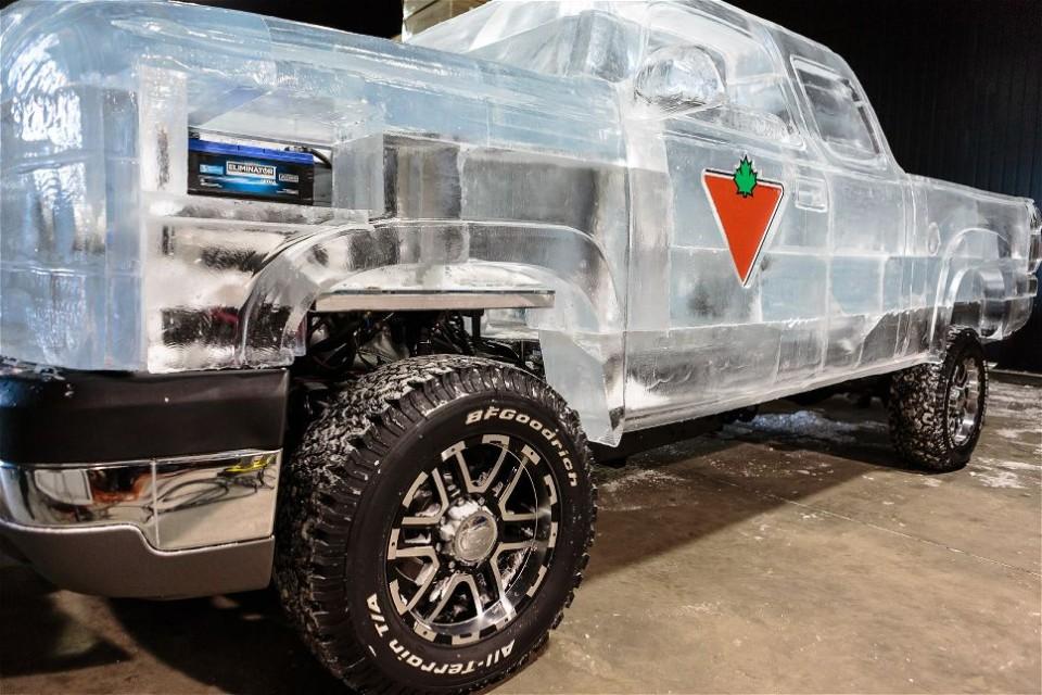 Холодный грузовик