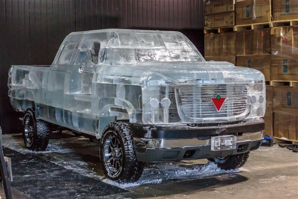 Холодный автомолиль