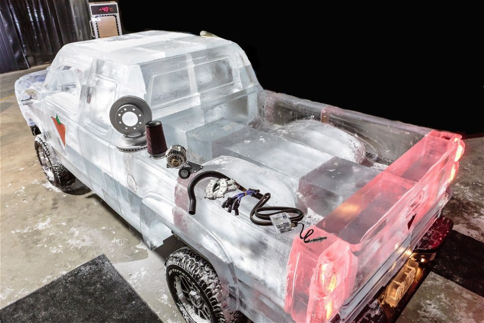 Автомобиль Деда Мороза