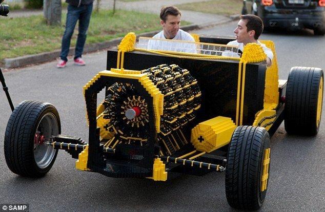 лего автомобили видео