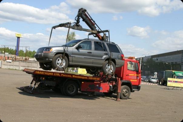 Эвакуация легковых автомобилей фото