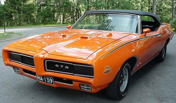 Pontiac GTO 1969 фото