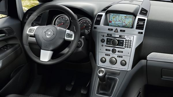 Opel Zafira фото
